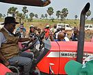 Agricultural equipment of the PIREDD Project Mai Ndombe