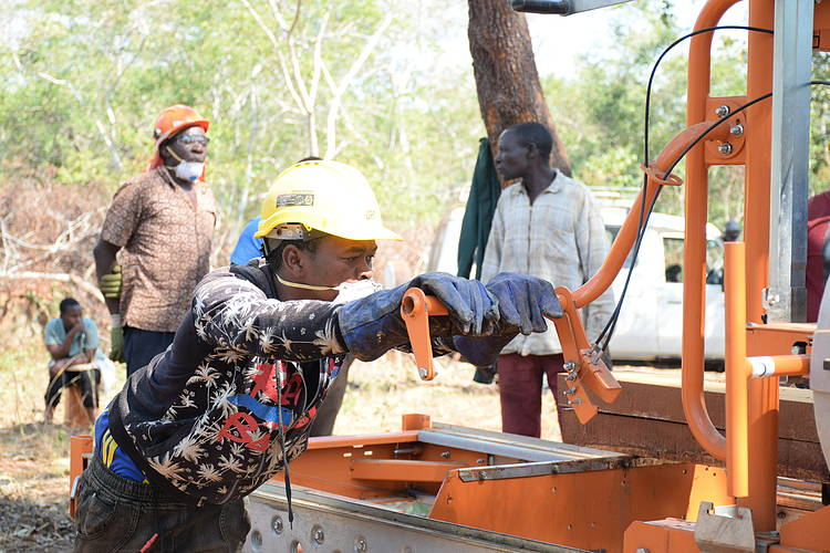 Community forest mobile sawmilling transforming timber market in certified VLFRs