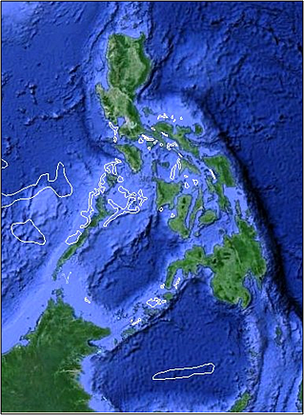 Google Earth Map Philippines What Google Earth's night maps tell us about fishing in the