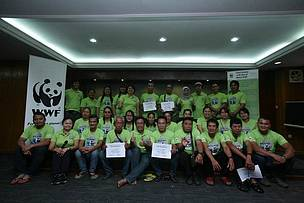 Introducing Citizen Science, Panda CLICK! to Sarawak's Rural Communities