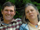 Steve and Linnea Bensel, WWF Climate Witnesses from US<br>© Linnea Bensel