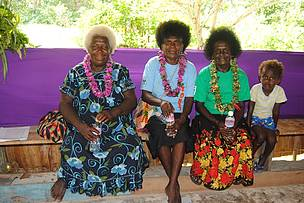 Women of Gizo at the launch of the Varitokae Women's Savings Club loan scheme on Ghizo island in the Western Province of Solomon Islands