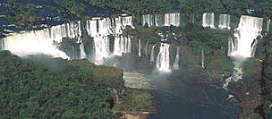 Iguaçu National Park - Iguaçu falls, Atlantic rainforest, Paraná, Brazil.