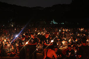 Earth Hour Cambodia switch off the light