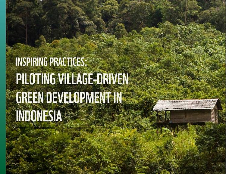 Inspiring Practices: Piloting Village-Driven Green Development in Indonesia