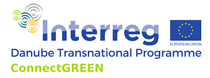 Logo ConnectGREEN  © Danube Transnational Programme