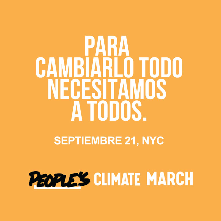 People´s Climate March