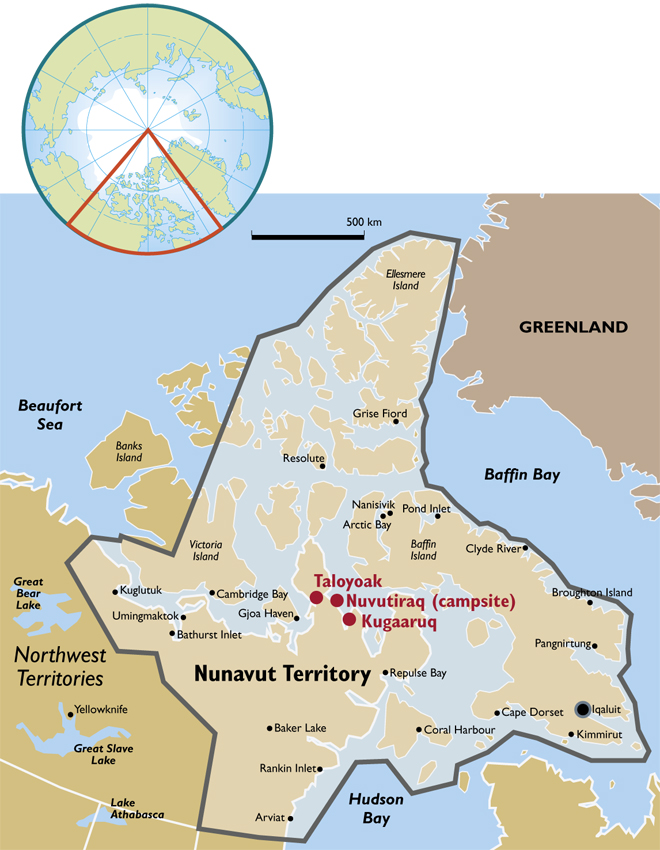 Climate witness in Boothia Peninsula Canada WWF