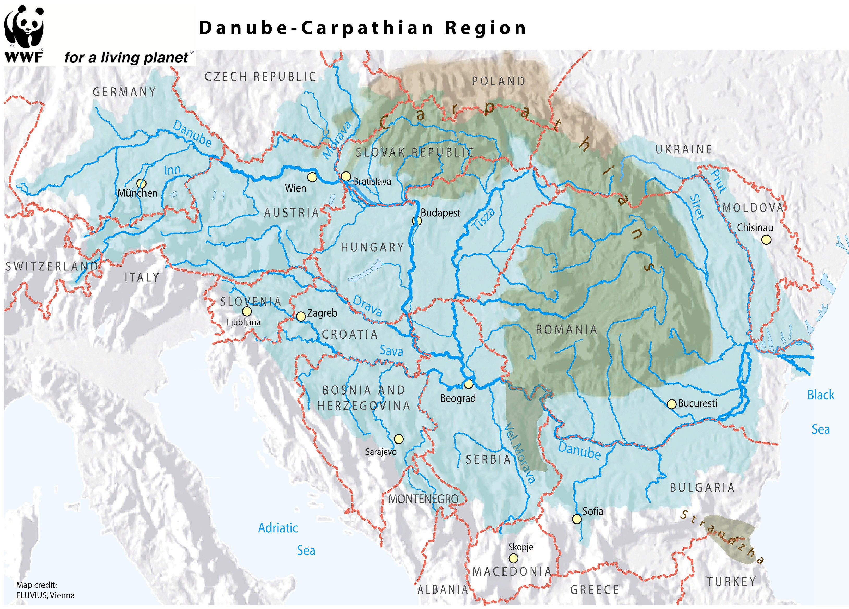 Picture of: The Carpathian Convention At 10 On The Map But Much Left To Do Wwf