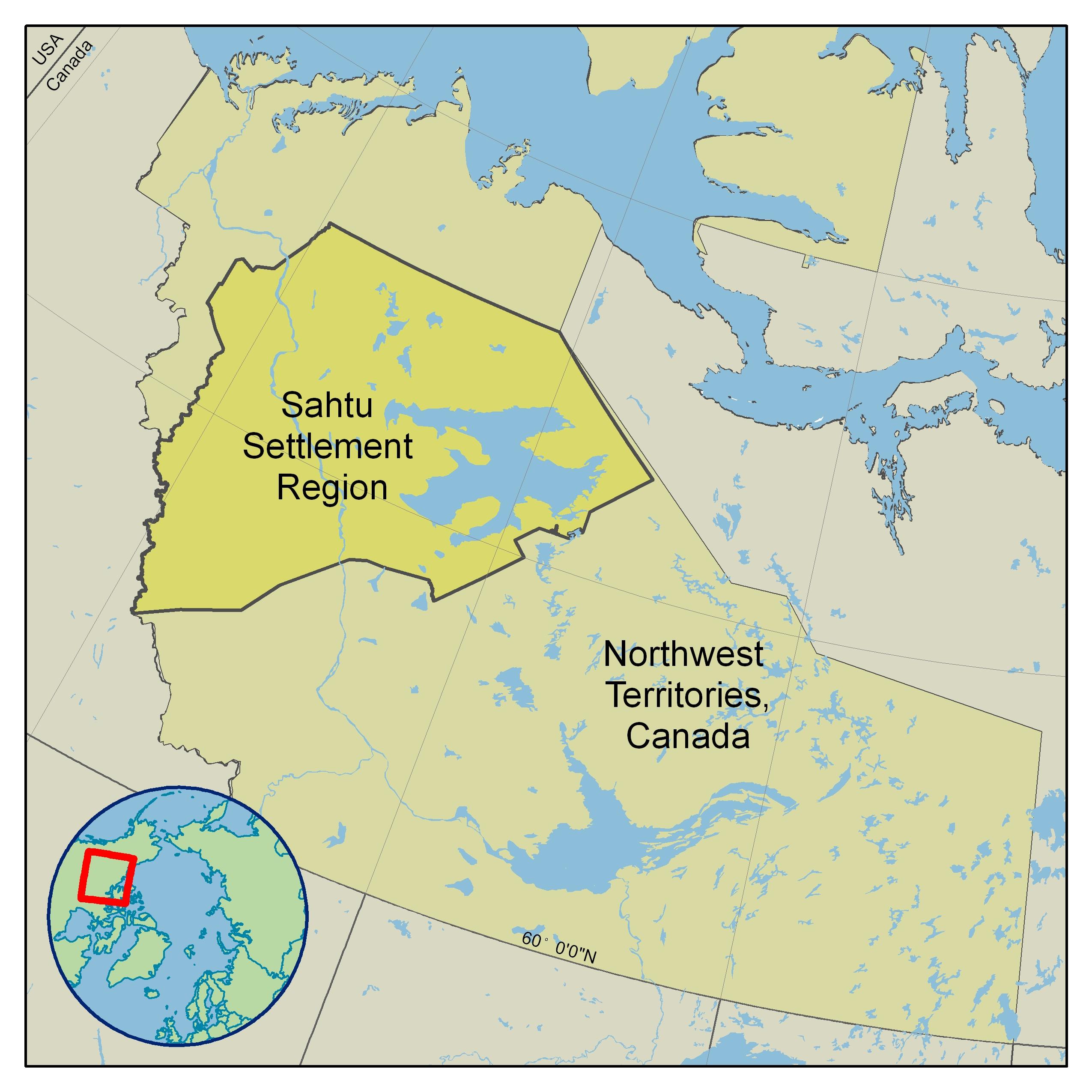 Arctic bulletin 0305 wwf a map of the sahtu region freya nales wwf canada cpaws gumiabroncs Images