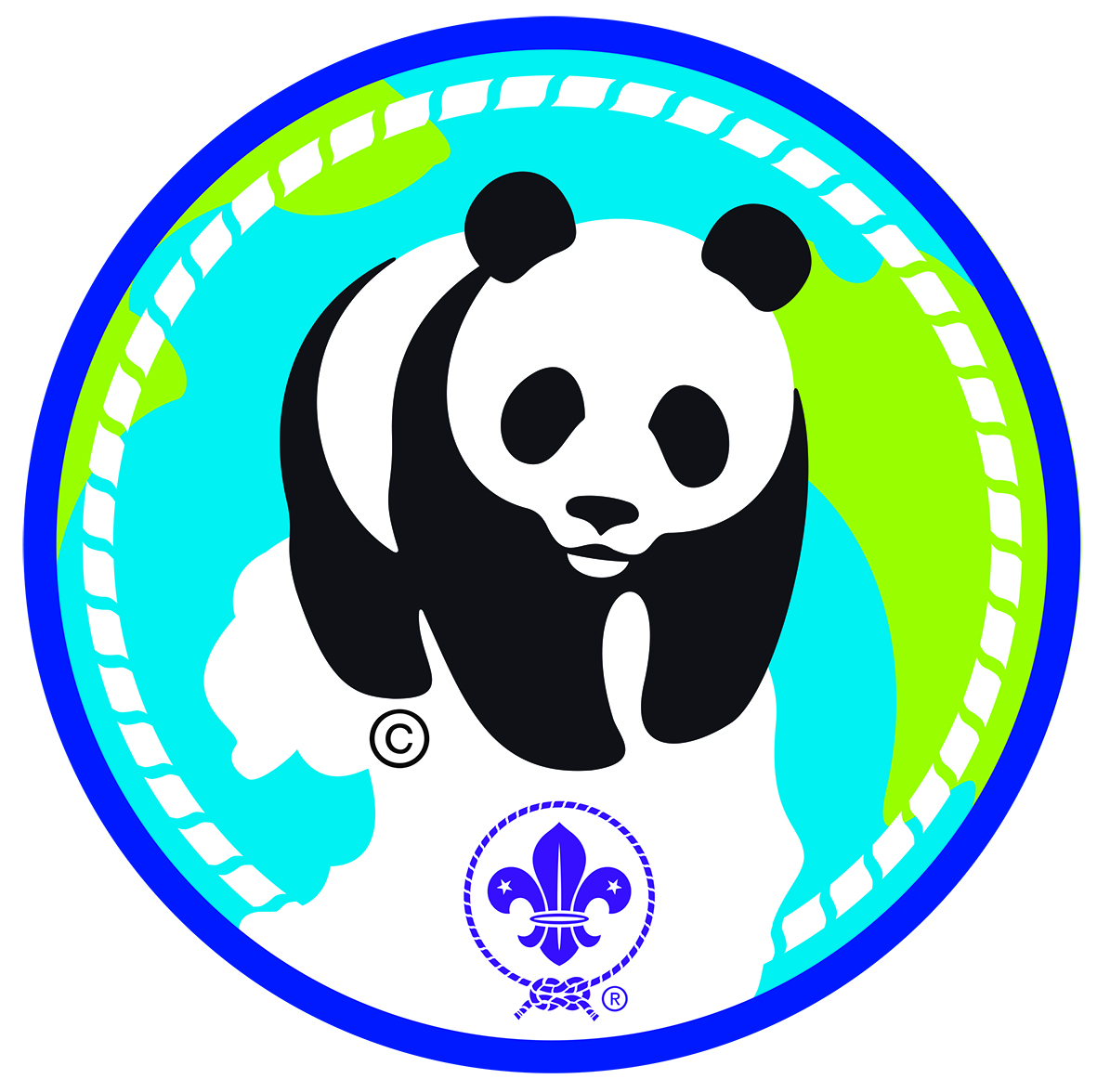 The new Champions for Nature Challenge badge