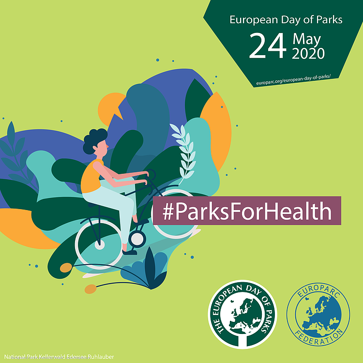 European Day of Parks: Healthy Parks, Healthy People
