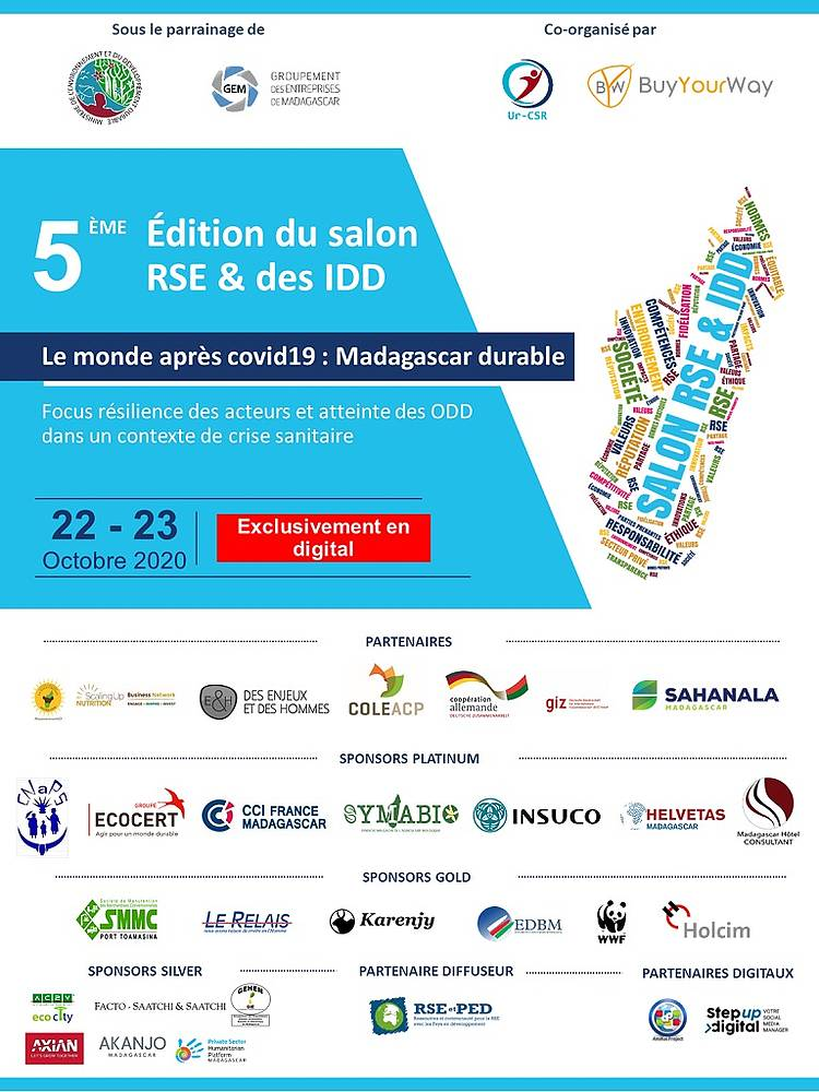 Sustainable value chain, conservation and private sector engagement at the CSR 2020 exhibition