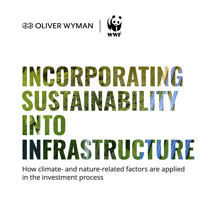 Incorporating Sustainability into Infrastructure